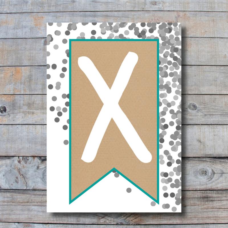 Letter - X