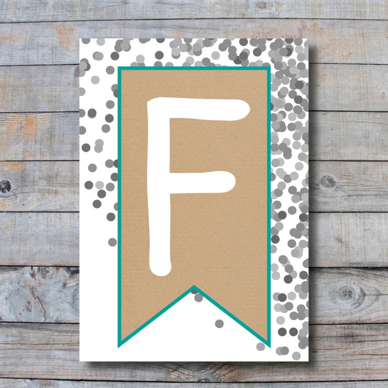 Letter - F