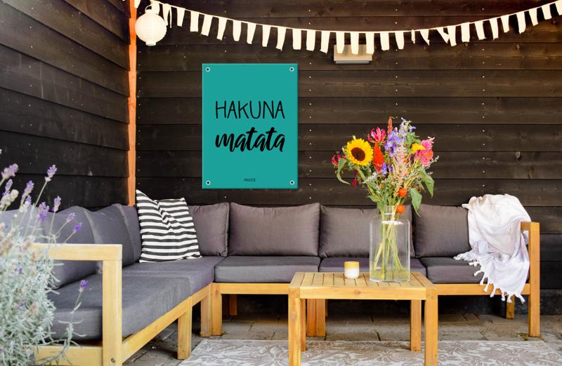 Tuinposter - Hakuna Matata