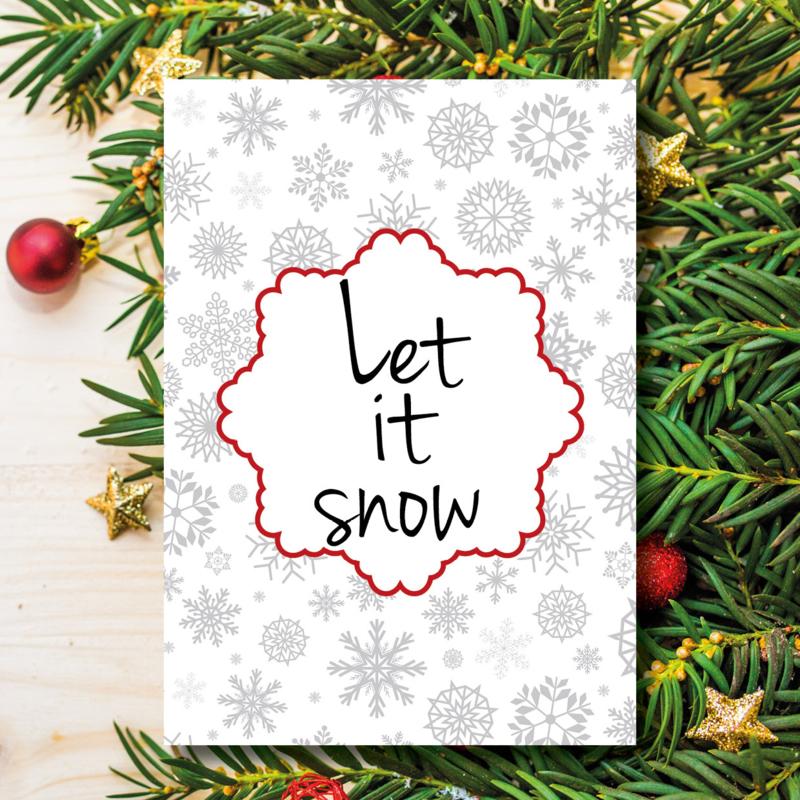 Kerst - Let it snow