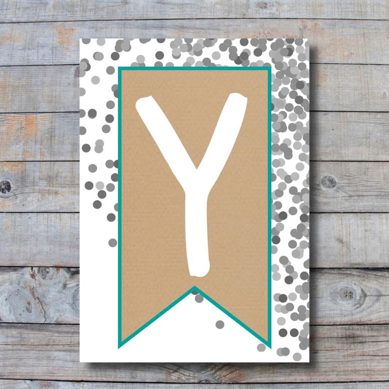 Letter - Y