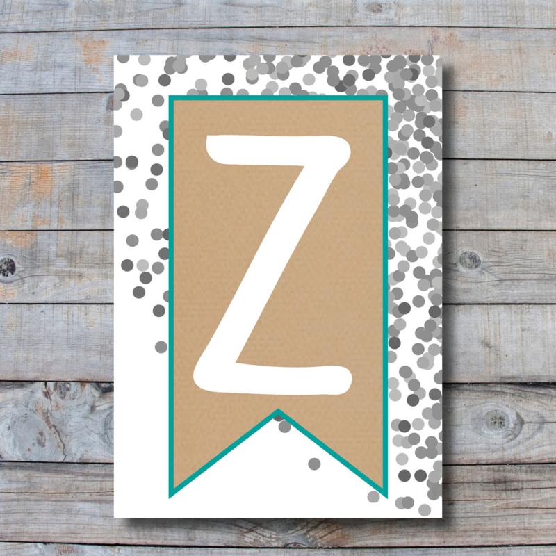 Letter - Z