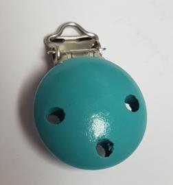 Speenketting Clip aqua/blauwgroen