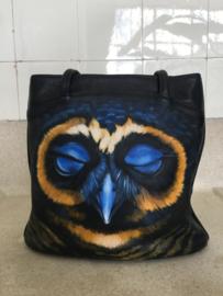 Handpainted Bag - Uil