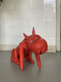 Untitled (Sitting dog)