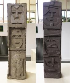 Untitled, Totem 1 & 2