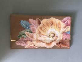 Handpainted Wallet - Bloem