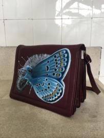 Handpainted Bag - Vlinder