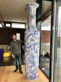 The Nai Han Blue Creatures Vase