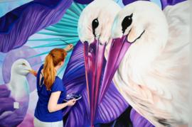 Purple Stork Room