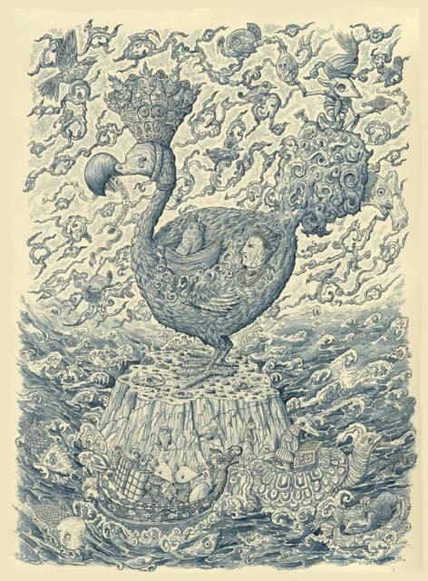 Uit het vogelboek van Jahangir