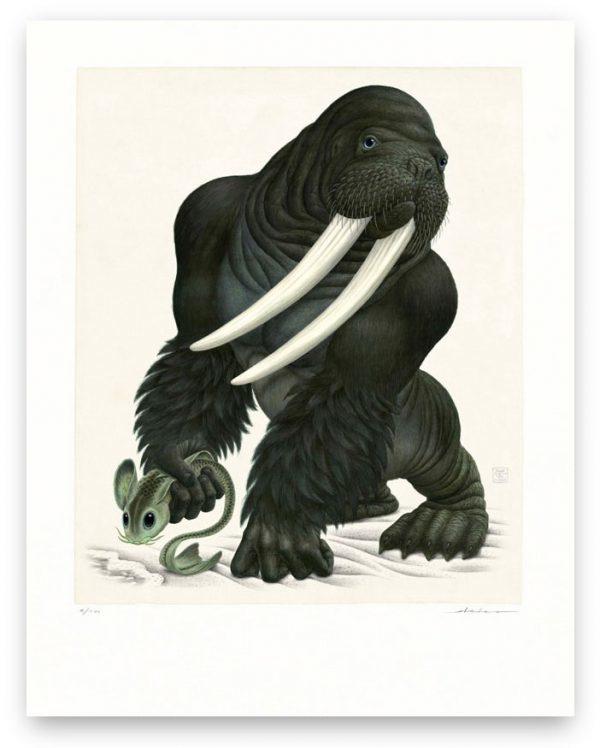 Gorillrus Poseidonides (Print)