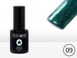 #09 Groen - fijne glitter