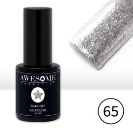 # 65 Zilver Glitter