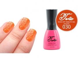 #30 Oranje Rood - grove glitter