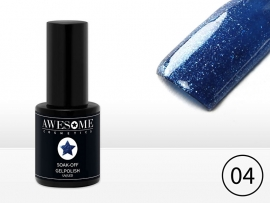 #04 Blauw - fijne glitter