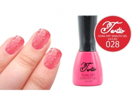 #28 Rood Roze - grove glitter