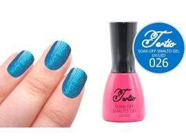 #26 Blauw - fijne glitter