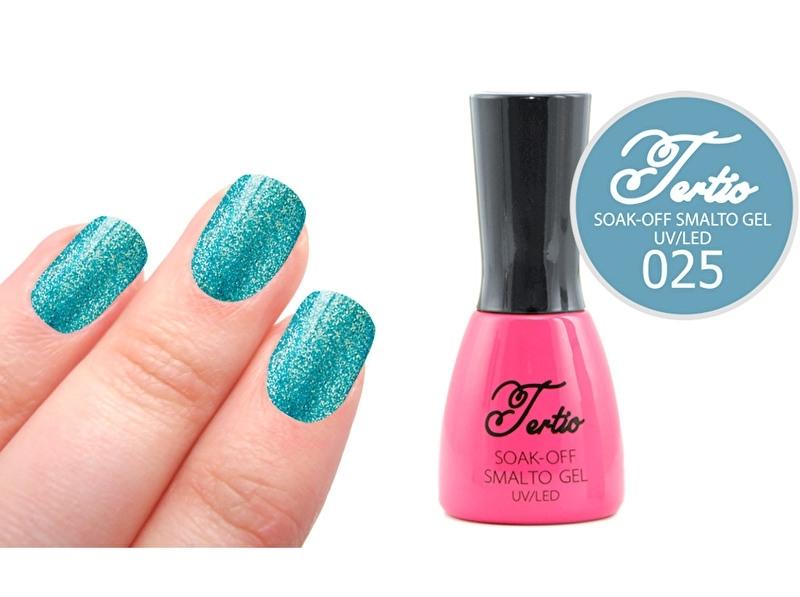 #25 Blauw/Groen - fijne glitter