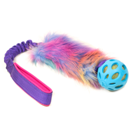 Zayma Unicorn FauxFur bungee & Crackleball medium