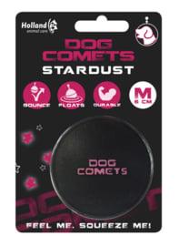 Dog Comets Ball Stardust Zwart/Roze