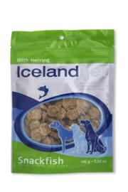 IcelandPet Dogtreat Herring 100 gr