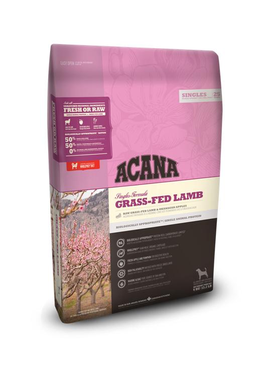 Acana Singles Grass-Fed Lamb 340 gr