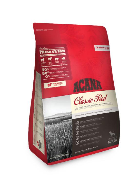 2 stuks Acana Classics Classic Red 11,4