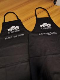 Keukenschort met twee zakken 'Fastfood'