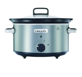 Crock-Pot slowcooker 3.5 ltr new DNA - rvs