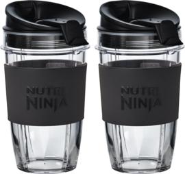 Nutri Ninja , 2 x 500 ML cup geschikt voor alle Ninja Auto-IQ apparaten