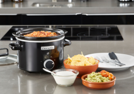 Crock Pot slowcooker zwart 2,4 ltr