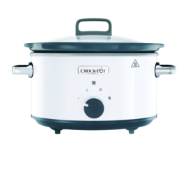 Crock-Pot slowcooker 3.5 ltr new DNA - wit