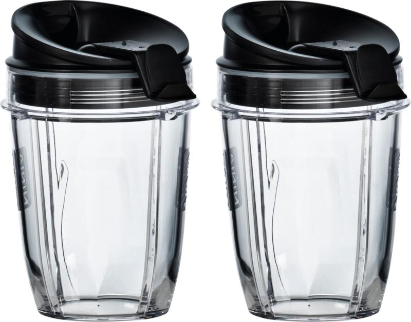 Nutri Ninja , 2 x 300 ML cup geschikt voor alle Ninja Auto-IQ apparaten