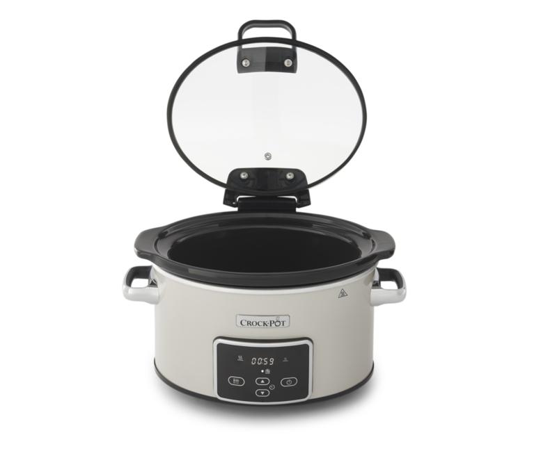 Crock Pot slowcooker digitaal wit 3,5 ltr