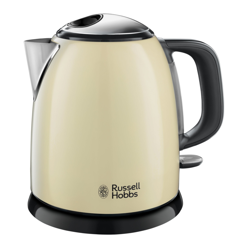Russel Hobbs Colours Plus+ Mini Waterkoker - Creme