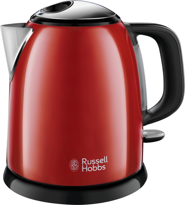 Russel Hobbs Colours Plus+ Mini Waterkoker - Flame Red