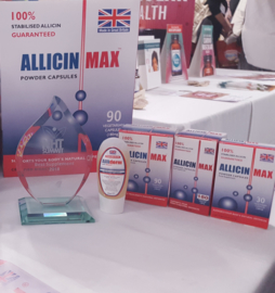 AllicinMax™ 90 capsules 'National Best Supplement Award 2018'