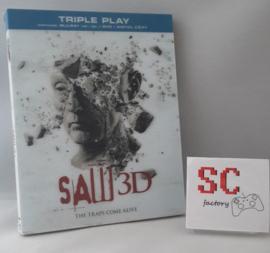 Saw 3D (7) Unrated Edition (incl. 3D brillen en 3D voorkant) - Blu-ray + Dvd