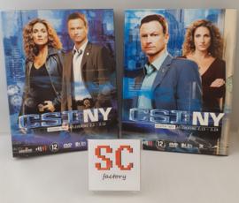 CSI NY (Crime Scene Investigation) Seizoen 2 Compleet (deel 1 + 2) - Dvd boxen