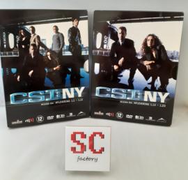 CSI NY (Crime Scene Investigation) Seizoen 1 Compleet (deel 1 + 2) - Dvd boxen