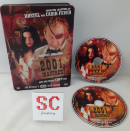 2001 Maniacs Special 2 Disc Steelbook Edition - Dvd