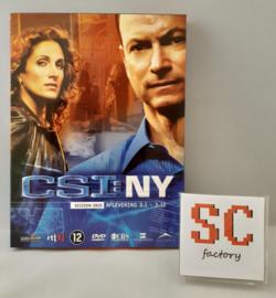 CSI NY (Crime Scene Investigation) Seizoen 3 Deel 1 (Afl. 1-12) - Dvd box