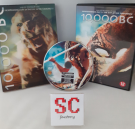 10,000 BC 3D Cover - Dvd