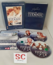 Titanic 4 Disc Deluxe Collector's Edition - Dvd box