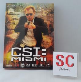 CSI Miami (Crime Scene Investigation) Seizoen 4 Deel 1 (Afl. 1-12) - Dvd box
