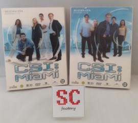 CSI Miami (Crime Scene Investigation) Seizoen 1 Compleet (deel 1 + 2) - Dvd boxen