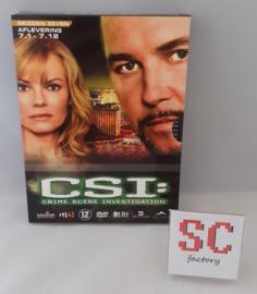 CSI (Crime Scene Investigation) Seizoen 7 Deel 1 (Afl. 1-12) - Dvd box