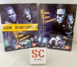 CSI (Crime Scene Investigation) Seizoen 1 Compleet (deel 1 + 2) - Dvd boxen