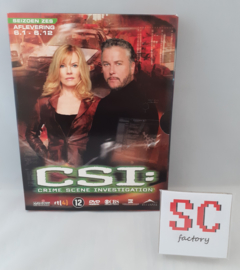CSI (Crime Scene Investigation) Seizoen 6 Deel 1 (Afl. 1-12) - Dvd box